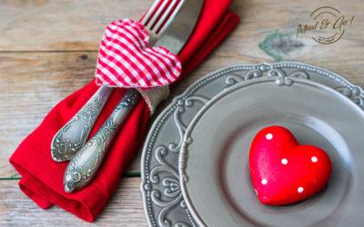 Voici notre menu de St Valentin