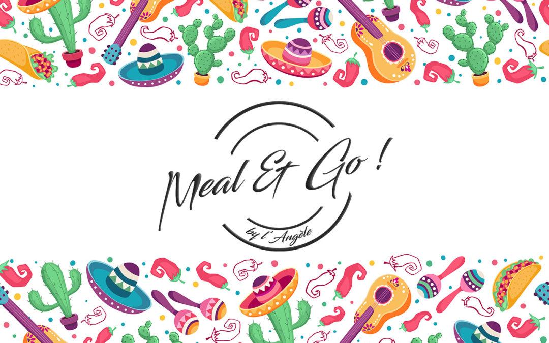 Menu Mexicain Meal and go repas à domicile Namur
