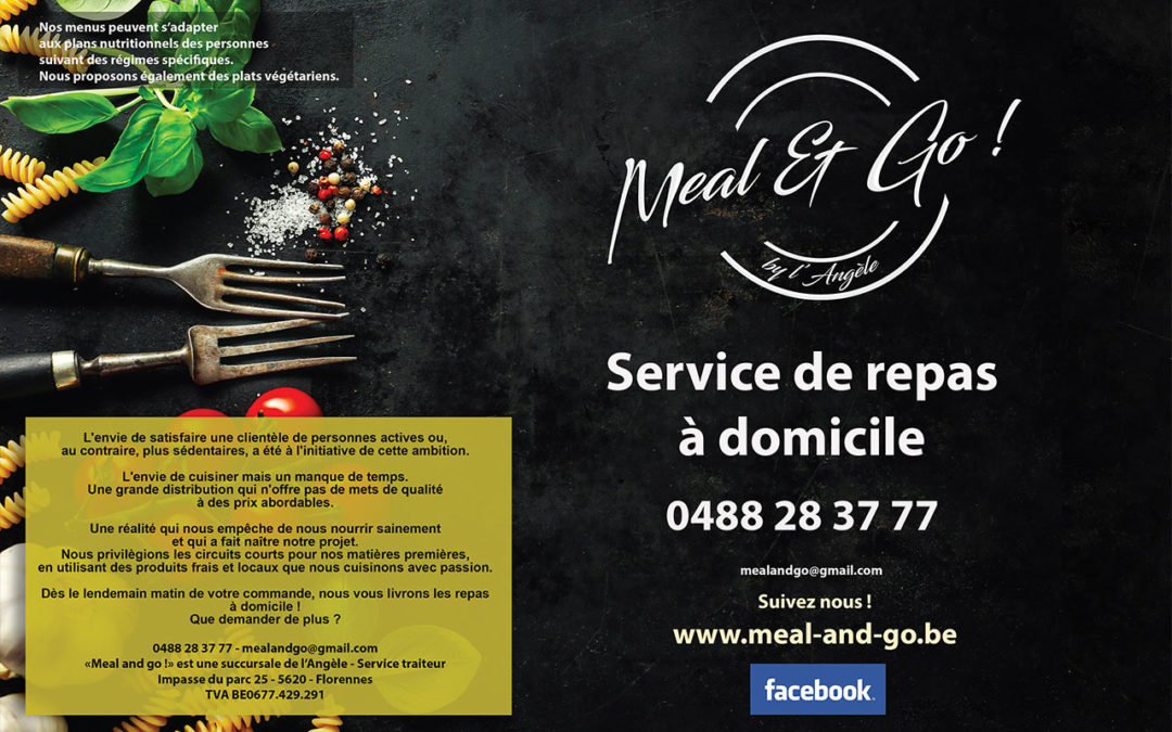 Menu du mois Meal and go