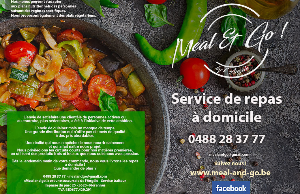 Menu Meal and Go Namur
