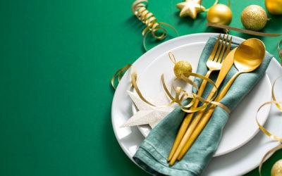 Nos menus pour les fêtes de fin d'année!