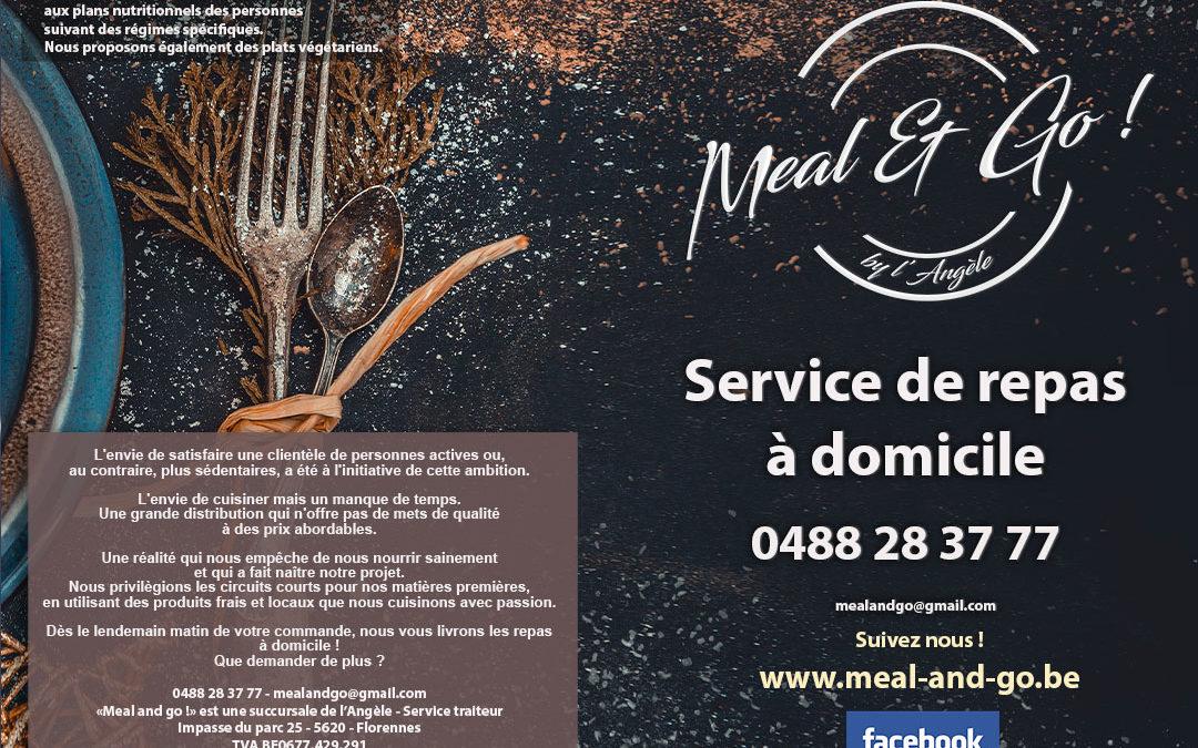 Menu Meal and go - repas à domicile