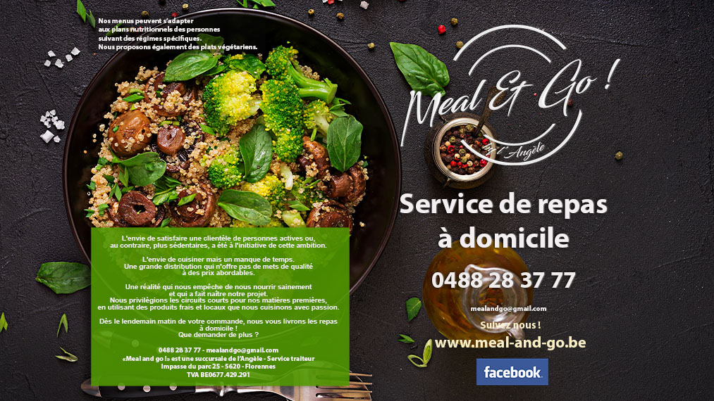 Menu Meal and Go Namur